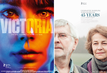 THE MATCH FACTORY Three nominations each for VICTORIA by Sebastian Schipper and 45 YEARS by Andrew Haigh at the European Film Awards 2015
